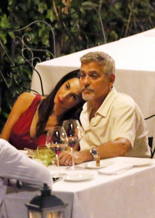 George a Amal jsou naprosto šťastni.