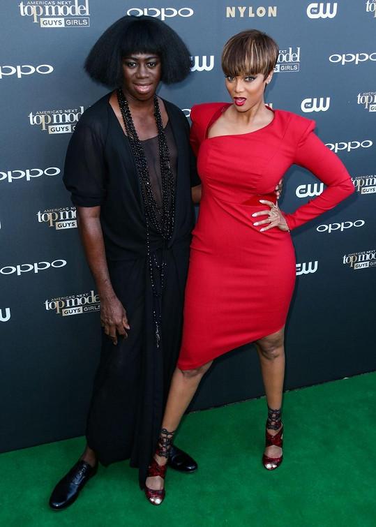 Tyra Banks s J. Alexanderem