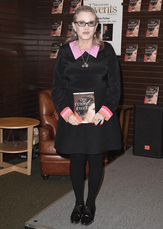 Fisher se svou nejnovější knihou The Princess Diarist