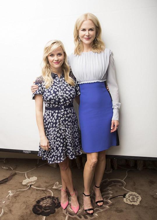 Reese a Nicole na premiéře seriálu Sedmilhářky