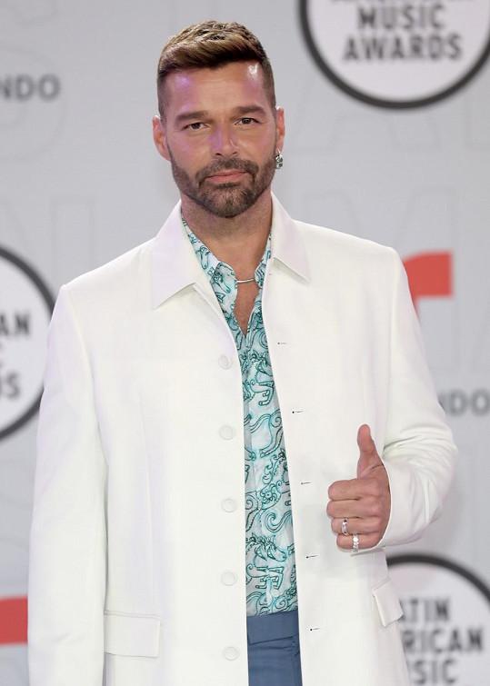 Ricky Martin promluvil o rozhovoru, který mu způsobil trauma.