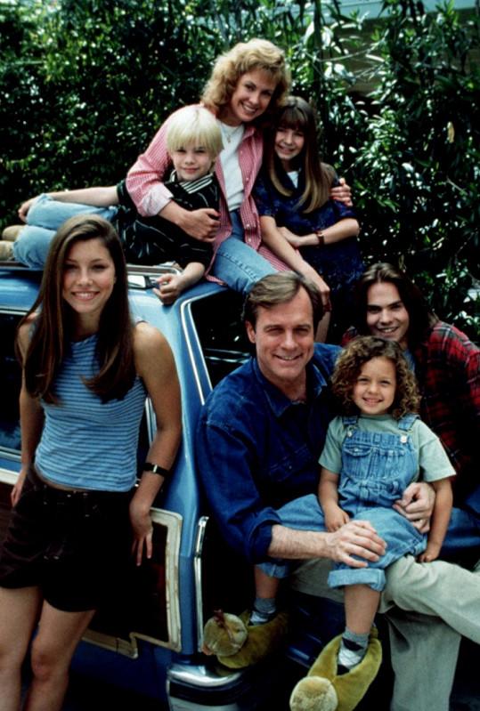 Rodina Camdenových ze seriálu Sedmé nebe