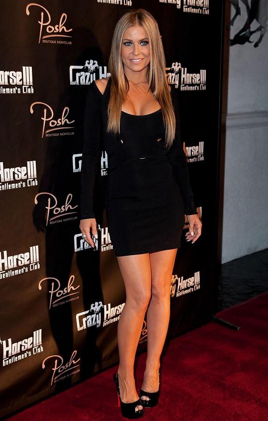 Nádherná Carmen Electra v Los Angeles.