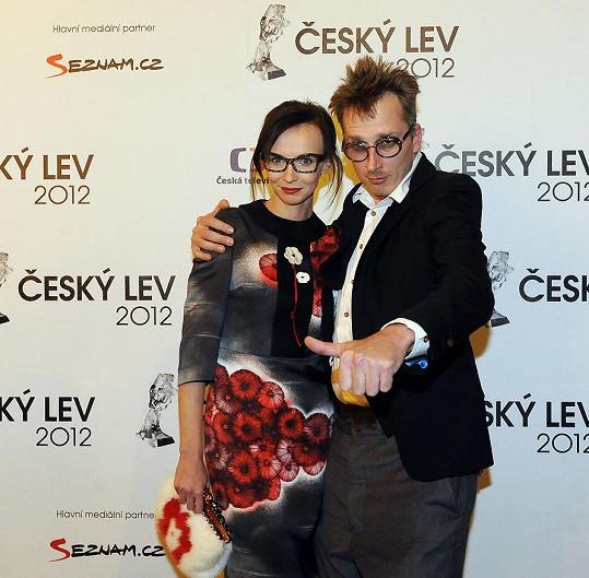 Jana Plodková s přítelem Filipem Žilkou.