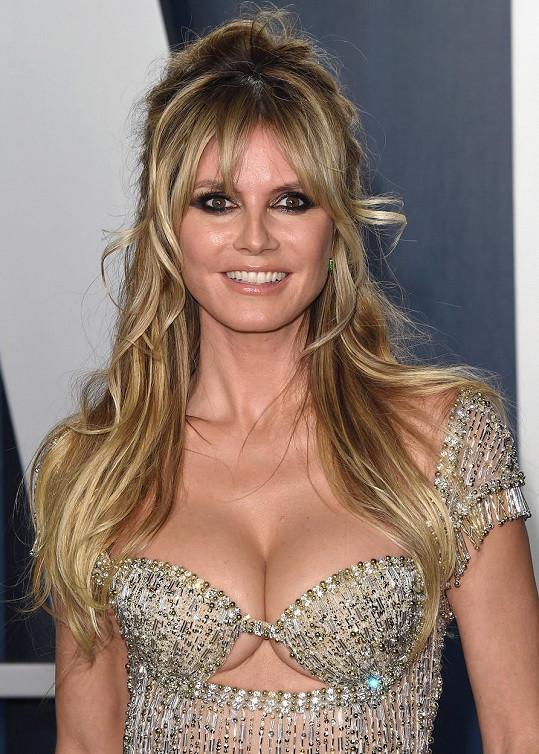 Heidi Klum slaví 48. narozeniny.