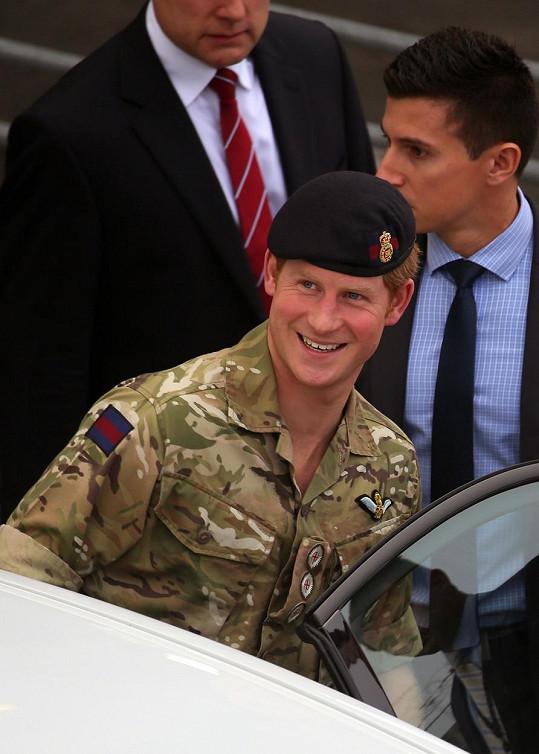 Princ Harry pobude v Austrálii čtyři týdny.