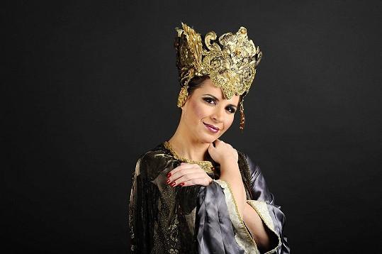 Andrea se připravuje na roli v opeře Nabucco, která se bude hrát v GoJa Music Hall.