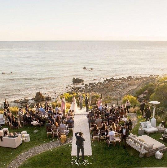 Svatba se odehrála v Miami.