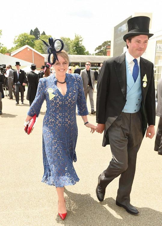 Laura s manželem Harrym Lopesem