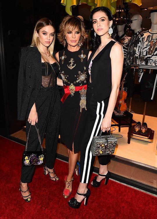 Lisa Rinna s oběma dcerami, Amelií Gray a Delilah Belle