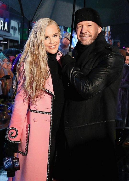 Jenny McCarthy s manželem Donniem Wahlbergem