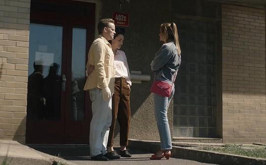 I Jakuba Prachaře znají diváci už z první řady. Lucie Vopatová (uprostřed) je nováčkem.