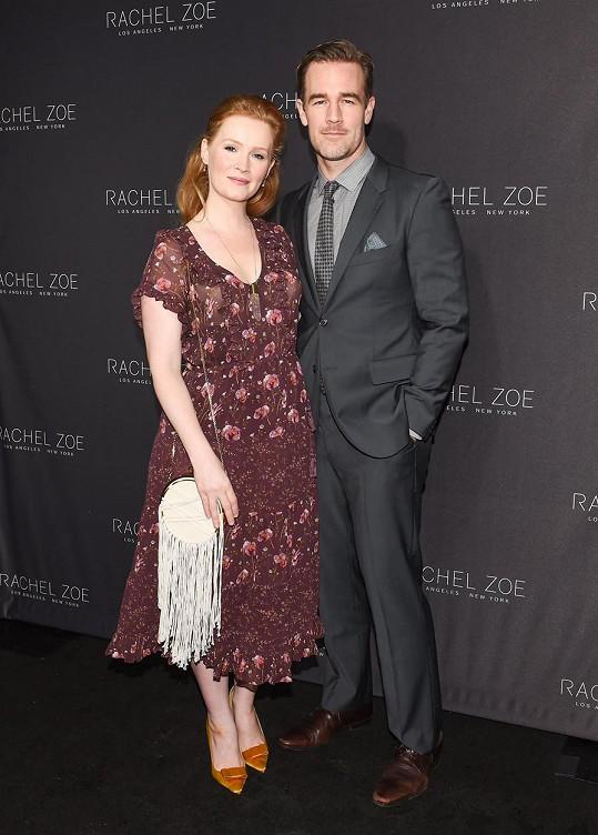 James Van Der Beek s manželkou Kimberly přišli o dítě.