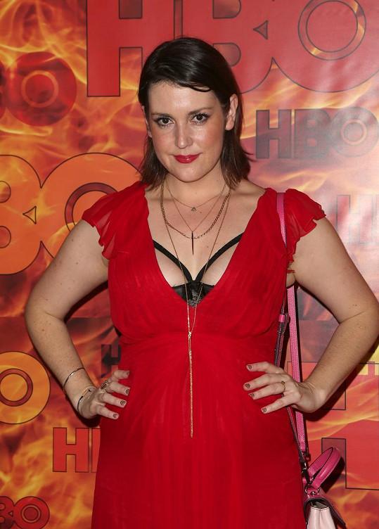 Melanie Lynskey na letošních cenách Emmy