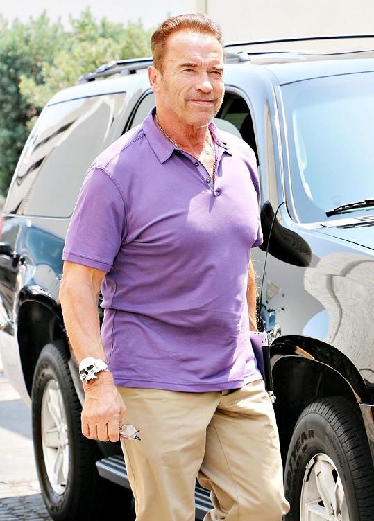 Arnold je teď jako plamínek...