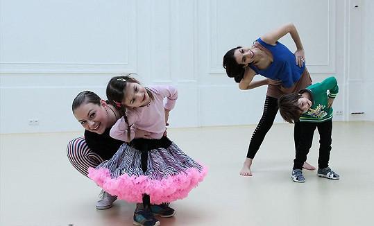 Takto vypadá taneční lekce.