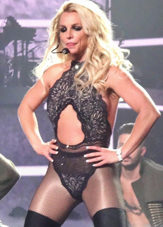Britney je v životní formě.