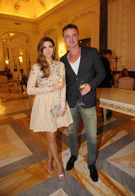 Tereza s manželem René Mayerem