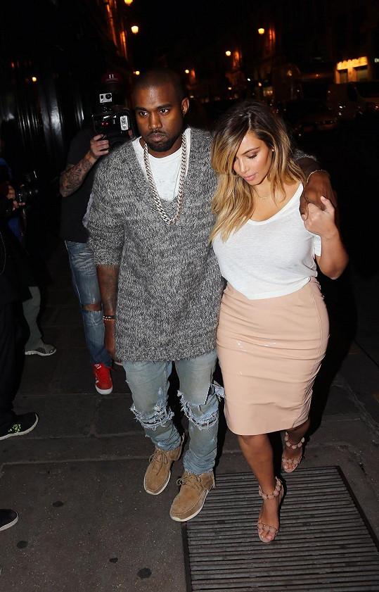 Kim Kardashian už je opět v kondici.