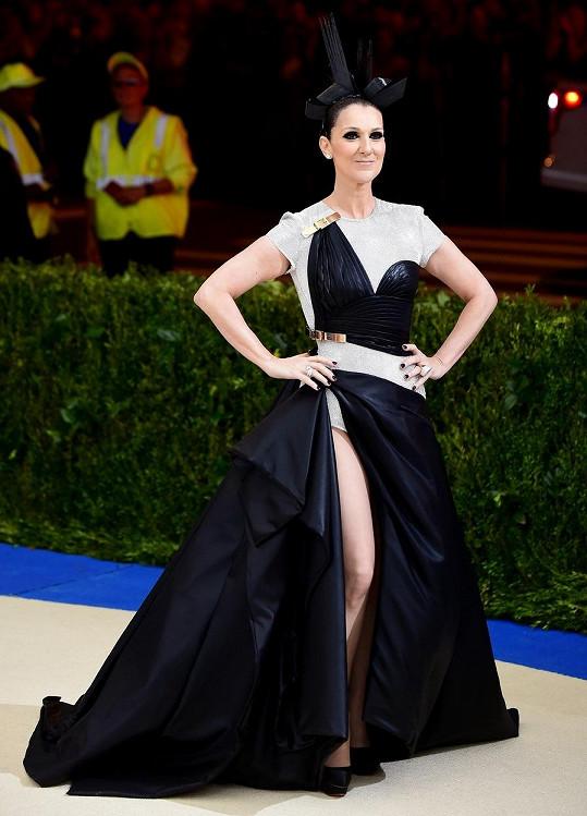 Céline Dion na akci Met Gala