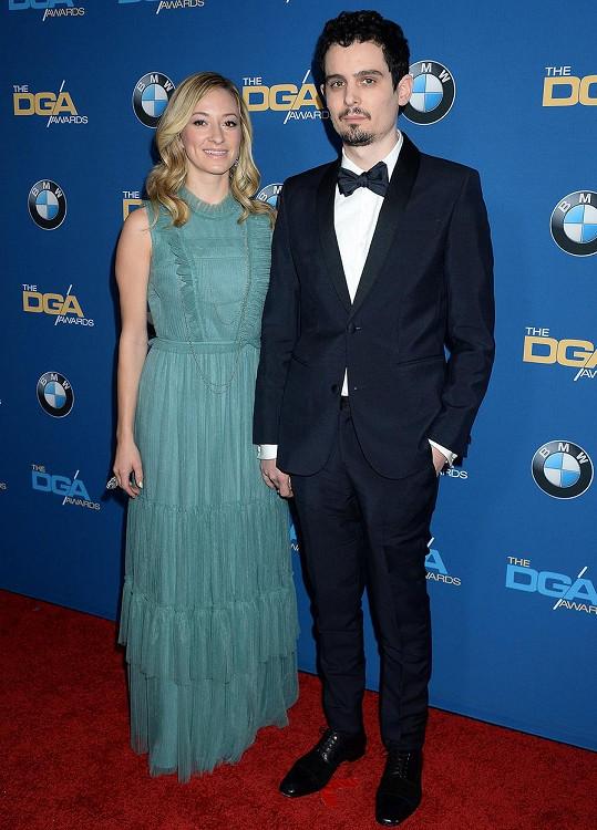 Režisér svou krásku ukázal i na udílení DGA Awards.