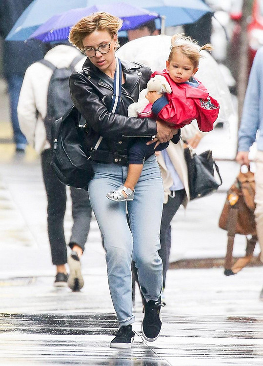Herečka má dvouletou dcerku Rose Dorothy