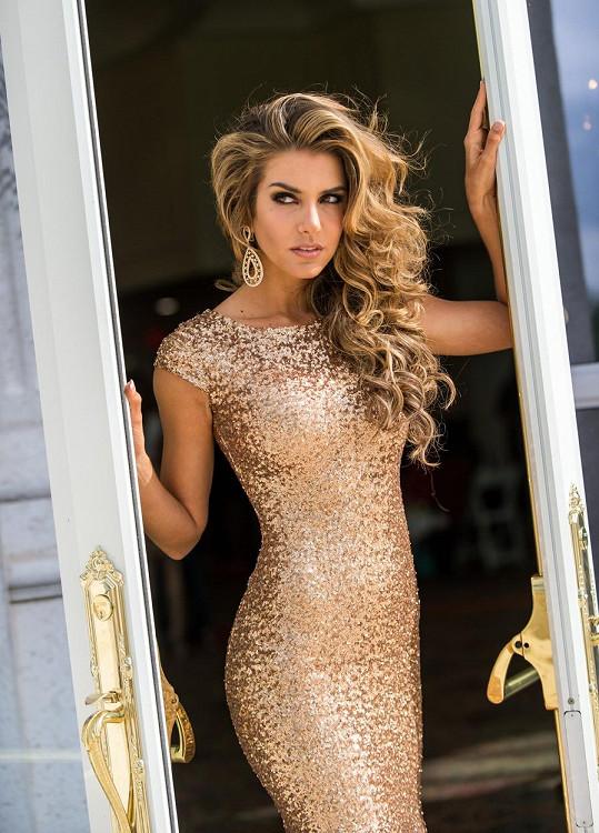 Valentina Ferrer v roce 2014 zvítězila v soutěži Miss Argentina.