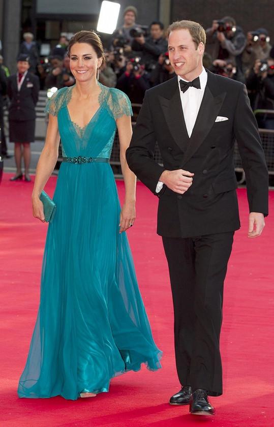 Nádherný manželský pár William a Catherine.