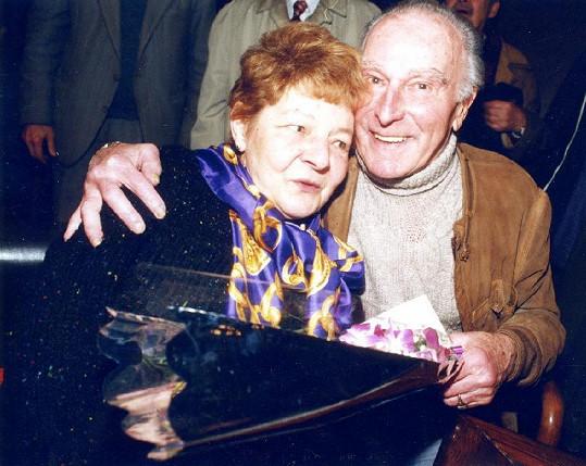 S druhou manželkou Věrou Liškovou žili společně spokojeně déle než třicet let.