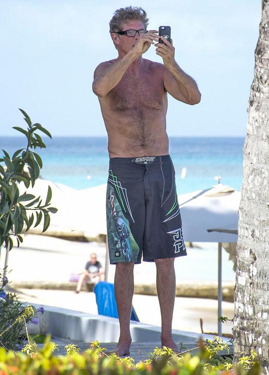 David Hasselhoff na Barbadosu