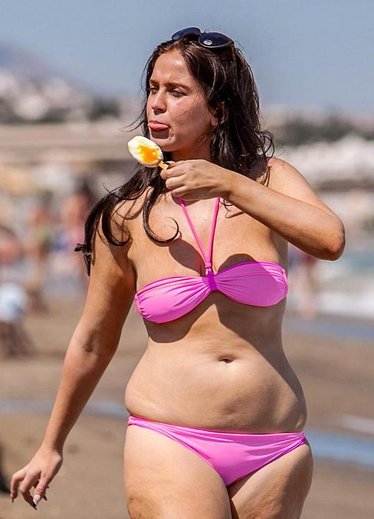 Vicky v létě 2013