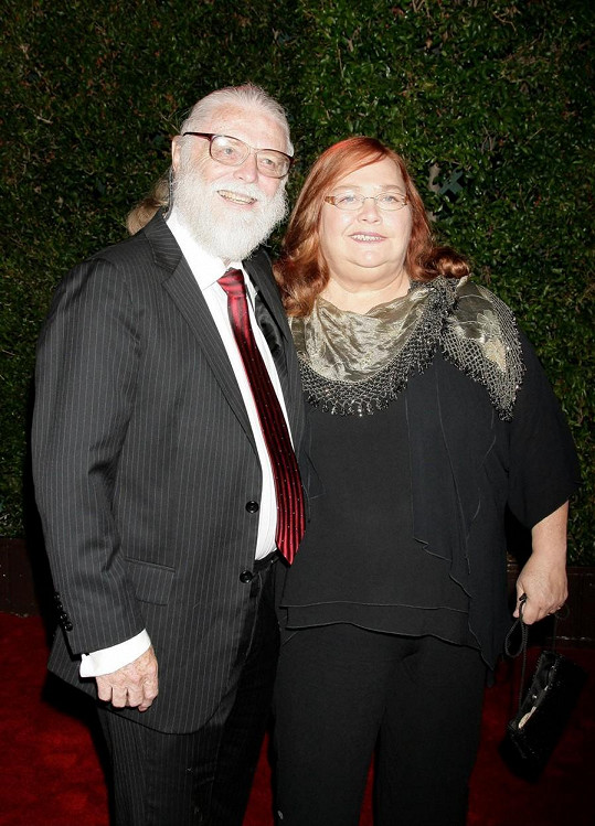 S manželem Arniem Andersonem