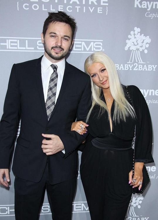 Christina a Matthew Rutler na snímku z loňského listopadu