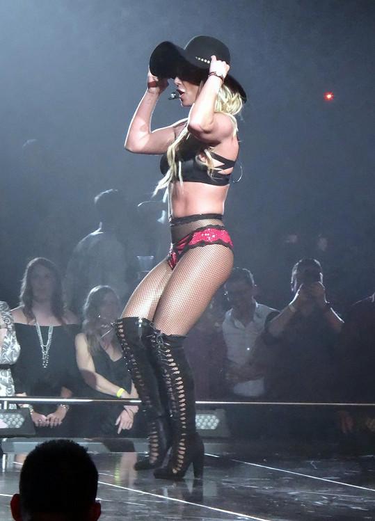 Na letošním koncertu vypadala podstatně lépe.