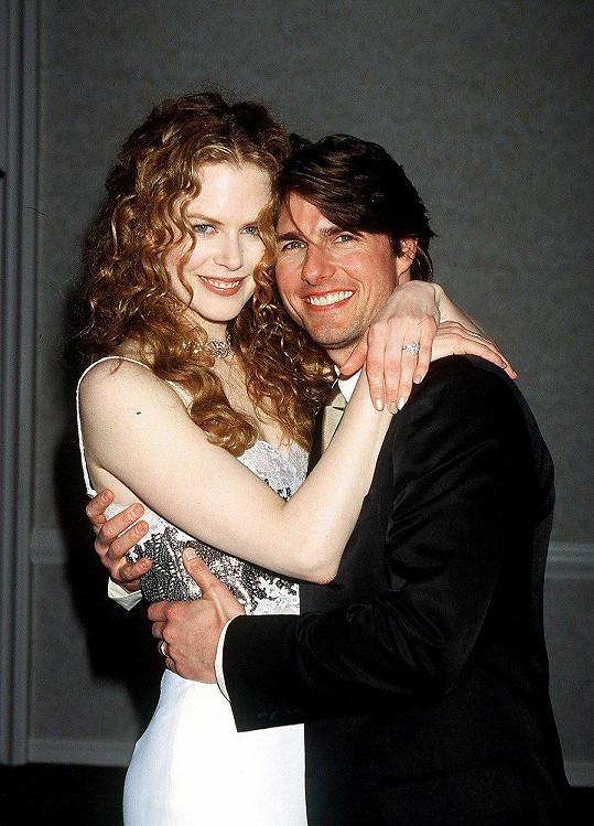 Tom Cruise a Nicole Kidman