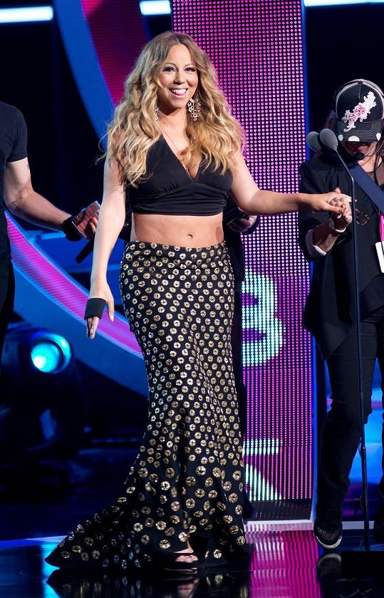Mariah Carey ve skutečnosti.