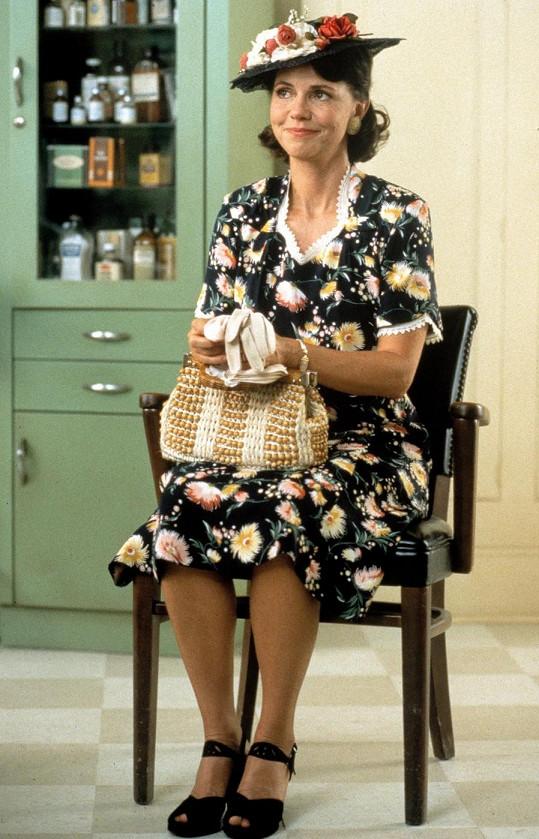 Sally jako maminka Forresta Gumpa v roce 1994.