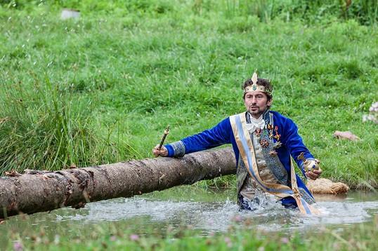 Ondřej Vetchý si zahrál krále.