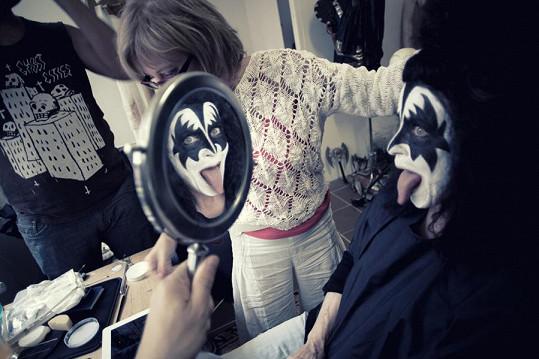 Nácvik před zrcadlem