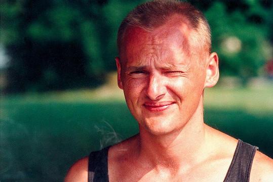 Radek Pastrňák ve Svěrákově filmu Jízda (1994)