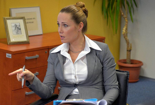 Pavla si zahraje ambiciózní manažerku Lenku Falešníkovou - Vondráčkovou.
