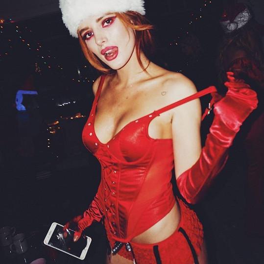 Trochu kýč a trochu Bella... Americké Vánoce v podání Belly Thorne.