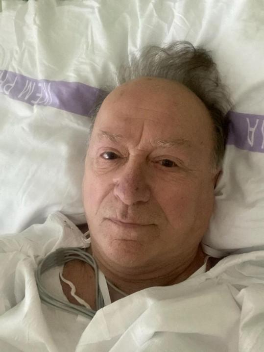 Petr Janda ve čtvrtek ráno podstoupil zákrok na srdci.