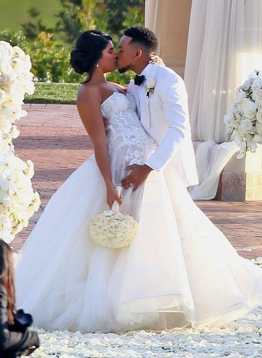 Svatba proběhla v Kalifornii.