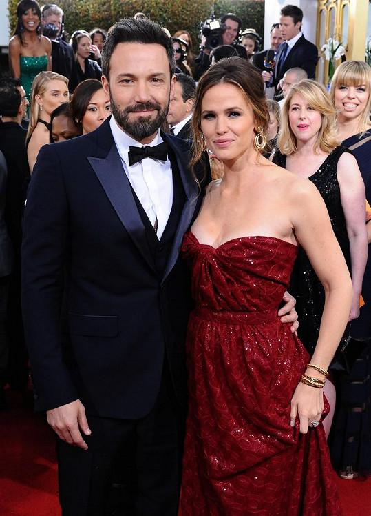 Jennifer Garner s exmanželem Benem Affleckem