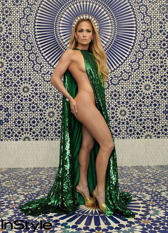 A zde předloha: Jennifer Lopez