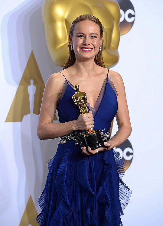 Brie Larson se v pouhých 26 letech dočkala Oscara.