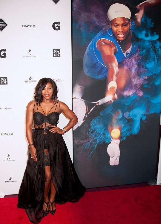 Serena Williams se stala sportovní osobností roku magazínu Sports Illustrated.