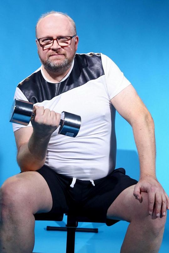 Michal Štika se konečně cítil jako chlap.