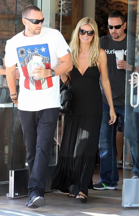 Heidi Klum s přítelem Martinem